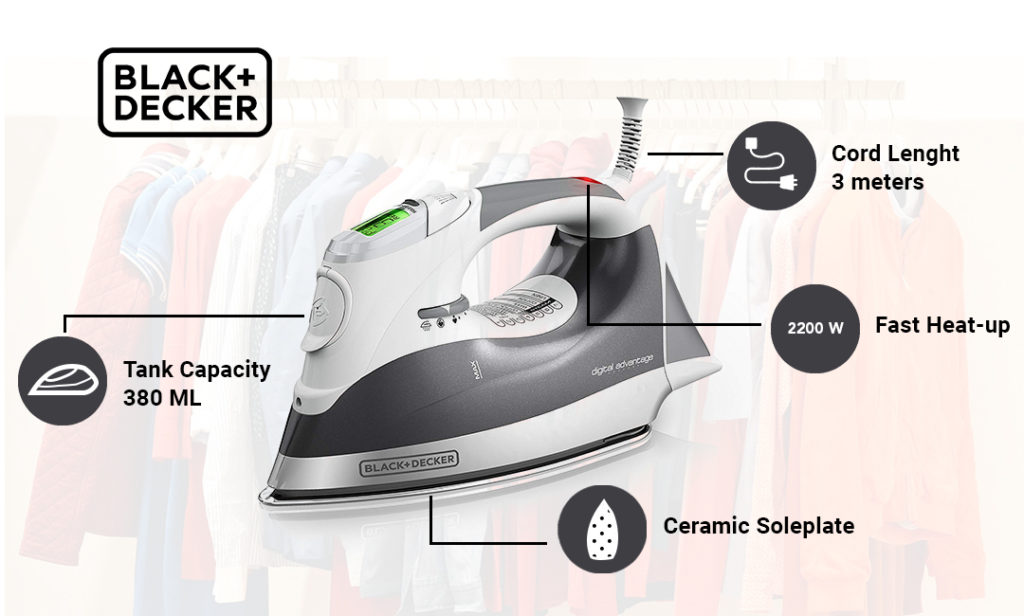 Black and Decker BD BXIR2202IN Steam Iron Review