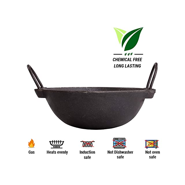 The Indus Valley Pre Seasoned Cast Iron Cookware