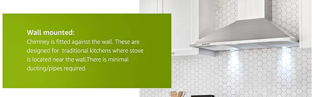 Wall-mounted Kitchen Chimney